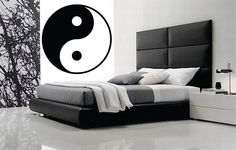 AWESOME YING-YANG Symbol wall decal by KeepItMello on Etsy https://www.etsy.com/listing/269590355/awesome-ying-yang-symbol-wall-decal