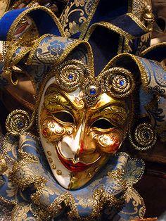 Venetian mask. (Reminds me of Finn's mask)