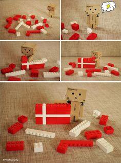 Danbo and #Lego #denmark