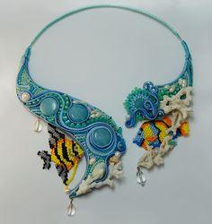 Bali Sea Legends Necklace  Author: Olesya Bryutova, Surgut, Tyumen region, Russia