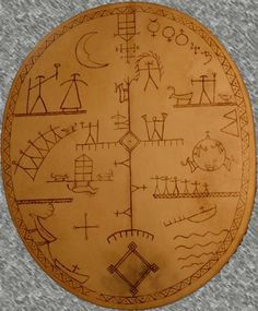 Shamanic Tree of Life ( from Lapland)