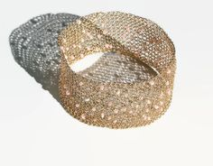 Wide gold bangle bracelet - beaded bangle bracelet - wide cuff - wire #crochet bracelet - lace bracelet - statement bracelet - unique gift: Unique wire crochet wide bangle ... #handmade #jewelry #boho #etsy #epiconetsy #shopping #shopsmall #jewelryonetsy #etsyseller