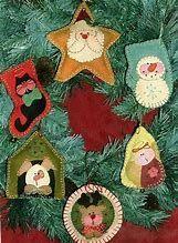 Image result for Free Felt Christmas Ornament Patterns