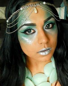simple mermaid look