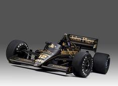 ——– 1986 Lotus Car of Legend Ayrton Senna ———– Lotus F1, Lotus Auto, Formula 1, Gp F1, Racing Car Design, Old Race Cars, Car Memes, Karting, F1 Racing