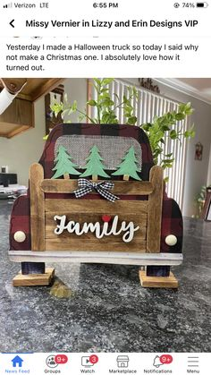 Christmas Ideas, Christmas Decorations, Holiday Crafts, Ladder Decor, Craft Ideas, Halloween, Design, Home Decor, Christmas Wood