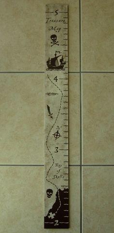 pirate treasure map - growth chart