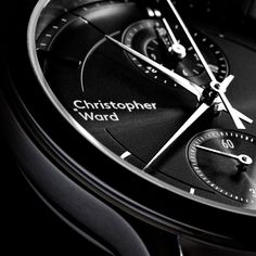 A dress watch with motorsport DNA, the Malvern Chronograph Mk III features a redesigned case and choice of new premium dial finishes. Christopher Ward, Swiss Watch, Chronograph
