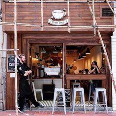 Cafe inspiration - Brew Bros, Hong Kong, China  For more coffee inspirations from Japan visit www.kurasu.me