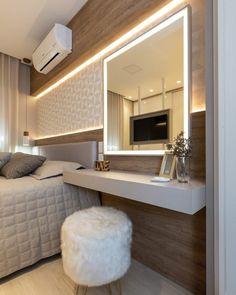 Home Design Decor, Home Room Design, Home Interior Design, Design Design, House Design, Cute Bedroom Decor, Stylish Bedroom, Bedroom Ideas, Bedroom Closet Design