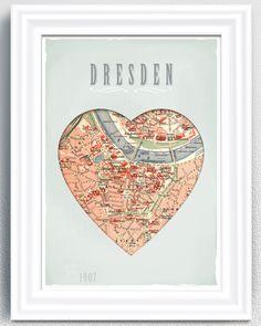 Für in jeder gewesenen Stadt die Karte einrahmen :)