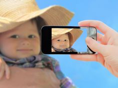 If you're taking your family to a crowded place like an amusement park, take a picture of your kids that morning. | 17 Insanely Clever Ways To Use Your Phone's Camera