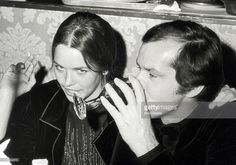Michelle Phillips and Jack Nicholson during 43rd Annual Academy Awards' Governer's Ball at Beverly Hilton Hotel in Beverly Hills, California, United States.