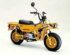 Honda Motra 1982 - the original Ruckus Honda Scooters, Honda Bikes, Motor Scooters, Vintage Bikes, Vintage Motorcycles, Honda Motorcycles, Cars And Motorcycles, Vw Bus, Side Car
