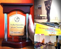 """Got invited as judge for the Final round of Front Runner (Business Plan competition) at Kristu Jayanti College.  It was my honor to share the judging panel with some of the finest management professors & other super entrepreneurs. Thanks Soloman (notNULL's Best Manager) for coming up with this strategy to market notNULL among campuses & for giving notNULL a platform to get exposed. Akshay (My Cofounder) was the happiest person to see me talk & obviously """"for his own reasons"""" ;). I dedicate…"""