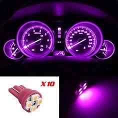 Partsam 10x Pink Purple T10 4-SMD LED Wedge Gauge Cluster Intrusment Speedo Light Bulbs Partsam http://www.amazon.com/dp/B00KV7GSJE/ref=cm_sw_r_pi_dp_pxPcub1SZZ069