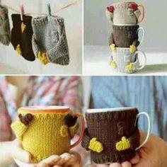 Cute mug warmers
