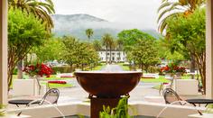 Spa Fountain at Silverado Resort and Spa. Photo credit: Silverado Resort and Spa