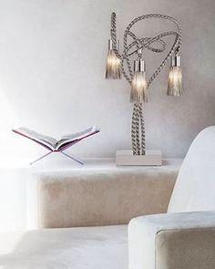 Brand Van Egmond - Sultans Of Swing Table Lamp Custom Lighting, Lighting Store, Modern Lighting, Lighting Design, Swing Table, Sultans Of Swing, Light Project, Light Decorations, Table Lamp