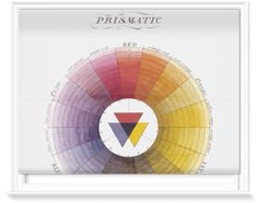 Blinds of Prismatic Colour Wheel by The Royal Academy Of Arts (1600mm x 1200mm) | Shop | Surface View