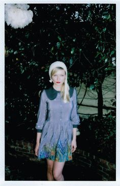 Kirsten Dunst photographed by Garrett Hedlund for Wren's Capsule Collection