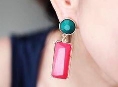 Fashion Personality Geometric Dangle Earrings