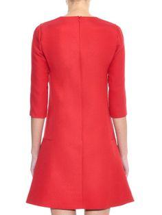 Giambattista Valli Wool and silk-blend fluted mini dress