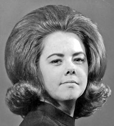 teased and flipped--I can't stand the way you TEASE ME! Retro Hairstyles, Wig Hairstyles, Updo Hairstyle, Wedding Hairstyles, Ugly Hair, 1960s Hair, Big Hair Dont Care, Bouffant Hair, Hair Flip