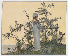 Heinrich Vogeler. Illustration from  Kunst und Dekoration, 1899.