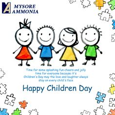 Time for some splashing fun #cheers and jolly time for everyone becouse it's Children's Day may the love and laughter always stay on every #child's face #HappyChildrensDay Mysore Ammonia Pvt. Ltd. : www.mysoreammonia.com/  #HappyDay #November14