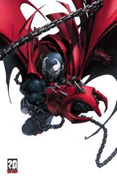 Image Detail for - spawn 20th anniversary poster 2 of 4 art by clayton crain price