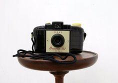 1950s Early Kodak Bakelite Brownie Vintage Camera by ArthouseAttic