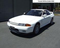 Nissan R32 GTR V Spec II Crystal White