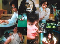 """TRILOGY OF TERROR is a scary tv movie; the third part was called """"Amelia"""" (a.k.a """"Prey"""" )with Karen Black!  Once viewed, you'll NEVER forget it!  Has its own Board!"""