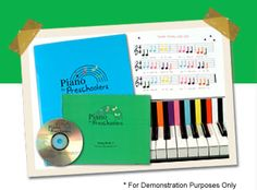 Teach your Child Piano with Kids Piano Music and Beginning Piano Lessons for Children - Piano for Preschoolers