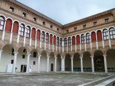 Palazzo Costabili, or 'di Ludovico il Moro', Ferrara, Italy; built between 1495-1504; designed by Biagio Rossetti.