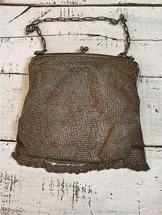 Vintage Mesh Evening Bag