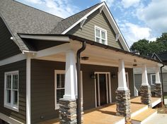 Our front porch columns are supposed to look like this! : )