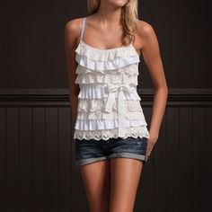 Summer ruffles... love it!