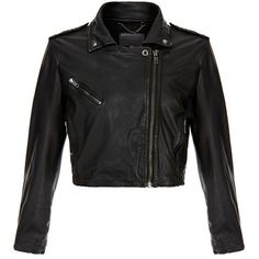 Muubaa Thanatos Black Leather Biker (25465 RSD) ❤ liked on Polyvore featuring outerwear, jackets, black, genuine leather jacket, motorcycle jacket, asymmetrical moto jacket, leather jacket and leather biker jacket