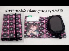 DIY How to make a Mobile Phone Wallet/Case (any cell phone)/ esta idea es económica y super facil
