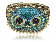 owl bracelet - unique jewelry