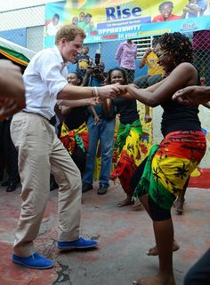 Prince Henry Breaking it down in Jamaica