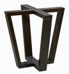 Metal Base Dining Table, Diy Dining Room Table, Wood Table Legs, Diy Table, Dining Room Furniture Design, Iron Furniture, Steel Furniture, Interior Design Living Room, Interior Decorating
