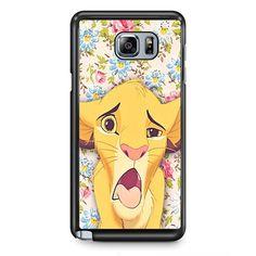 Simba Making Face TATUM-9603 Samsung Phonecase Cover Samsung Galaxy Note 2 Note 3 Note 4 Note 5 Note Edge