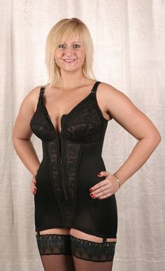 62eac6fb5757b Black corselet by Berdita Lingerie (30003). Also available in Beige ...