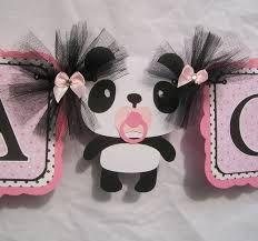 decoracion de baby shower con panda - Google Search