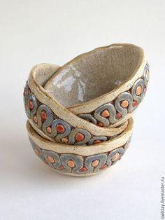 Пиалы ручной работы. Ярмарка Мастеров - ручная работа. Купить Пиала «Река». Handmade. Керамика, посуда, река
