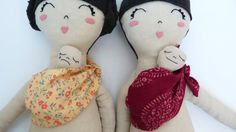 Baby Wearing Kit for Dolls by MiniBoheme on Etsy