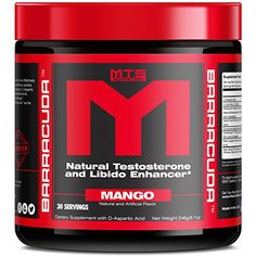 MTS Nutrition Barracuda Mango  Testosterone Booster * Click image for more details.